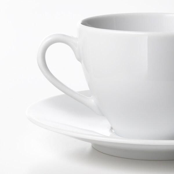 VÄRDERA Koffiekop en schotel, 20 cl