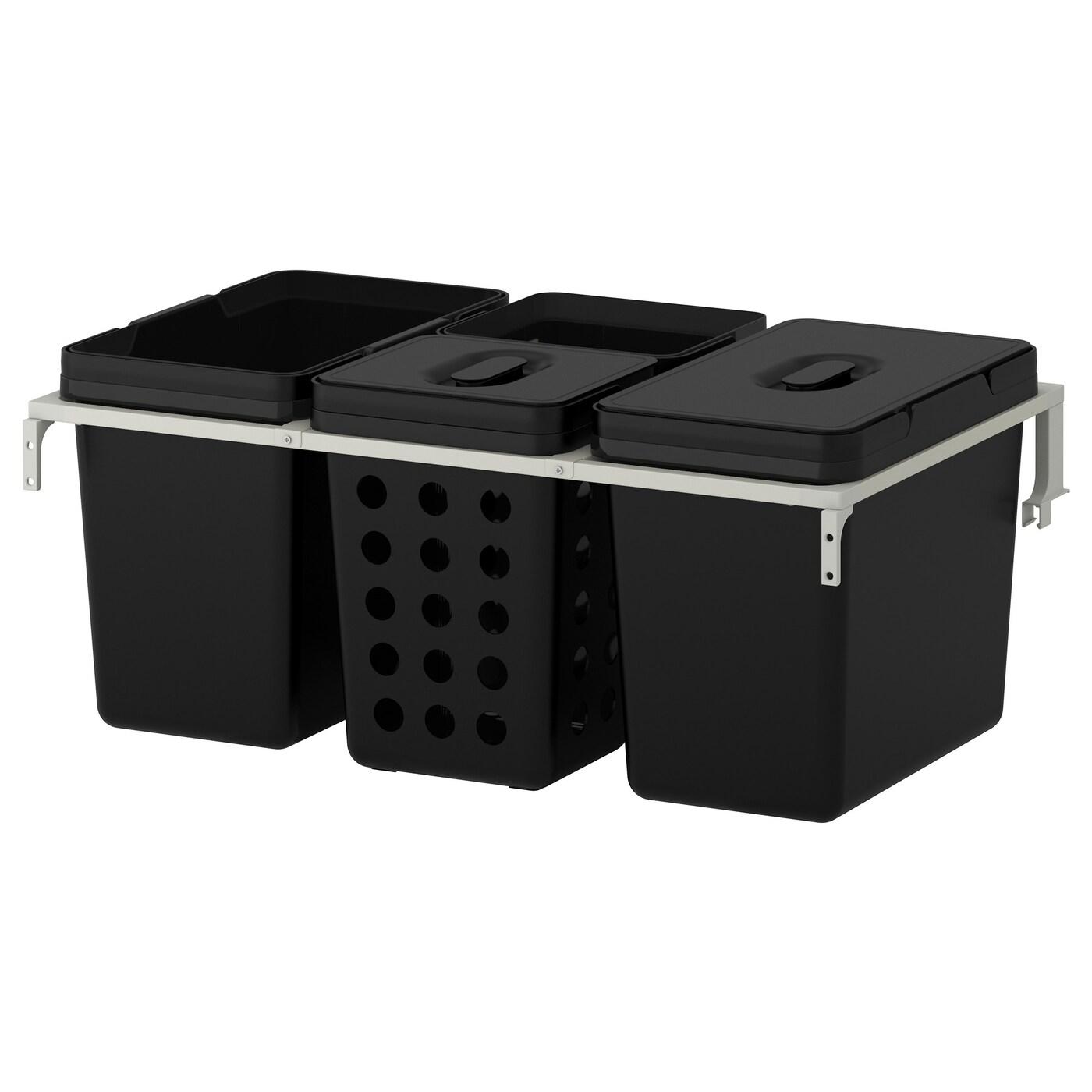 Afvalbak keukenkast keukenkast inrichting ikea for Ikea differenziata