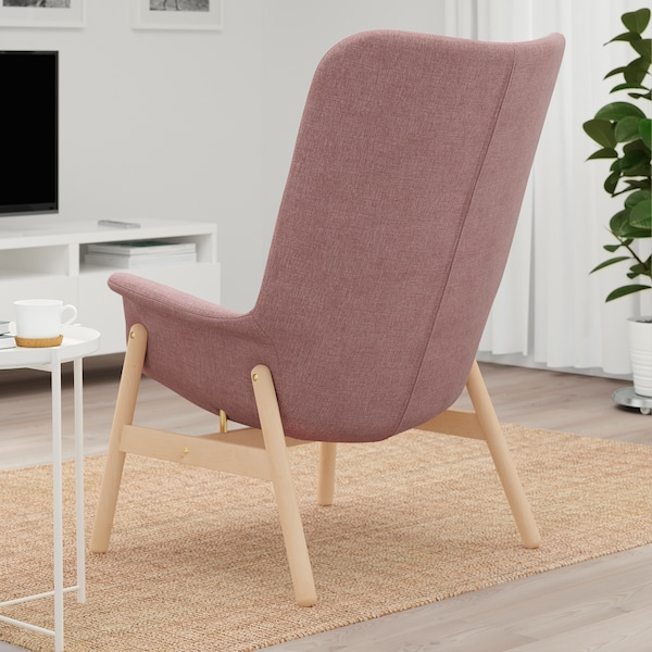 IKEA VEDBO Fauteuil met hoge rugleuning