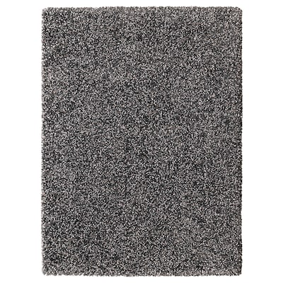 VINDUM vloerkleed, hoogpolig donkergrijs 180 cm 133 cm 30 mm 2.39 m² 4180 g/m² 2400 g/m² 26 mm