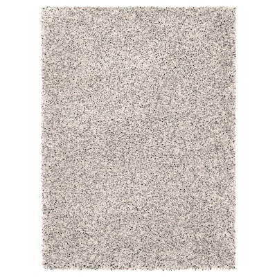 VINDUM vloerkleed, hoogpolig wit 180 cm 133 cm 30 mm 2.39 m² 4180 g/m² 2400 g/m² 26 mm