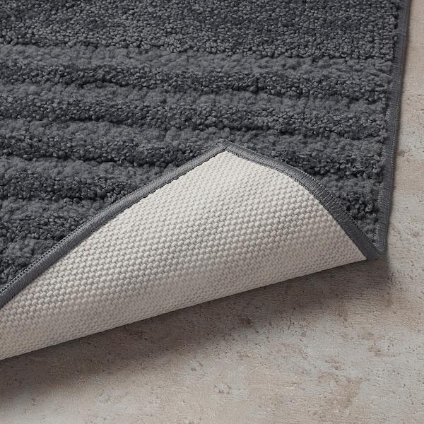 VINNFAR Badmat, donkergrijs, 40x60 cm