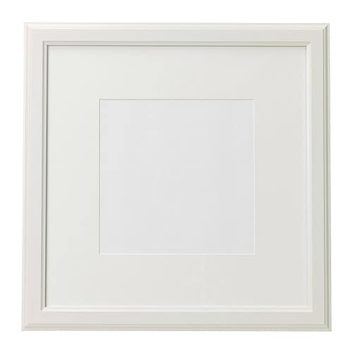 virserum fotolijst wit 50x50 cm ikea. Black Bedroom Furniture Sets. Home Design Ideas