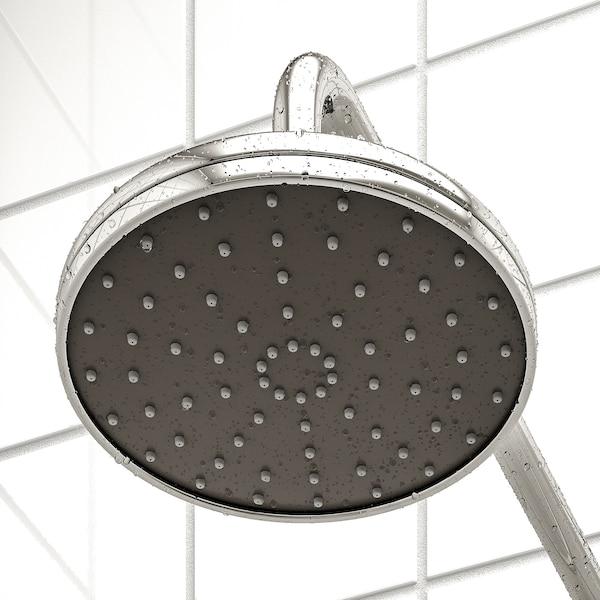 VOXNAN Plafond-/handdouche m omschakelaar, verchroomd