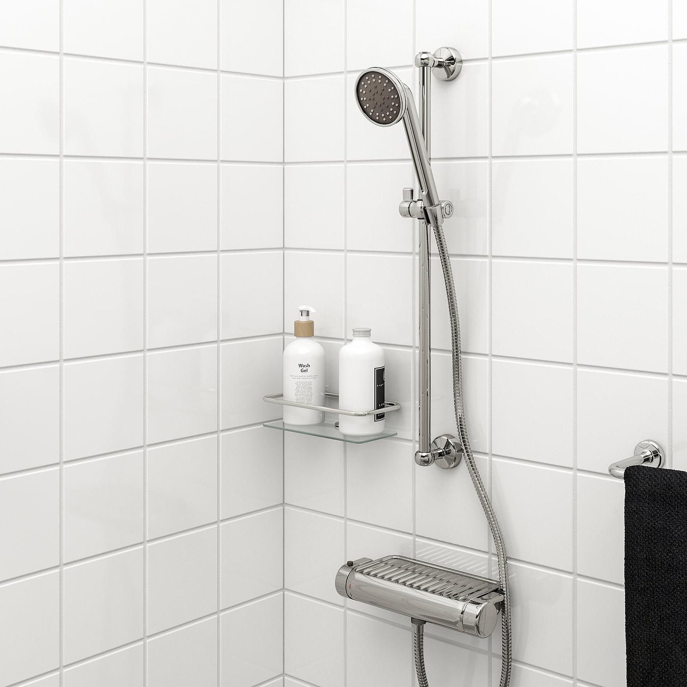 VOXNAN Stang met handdouche, verchroomd