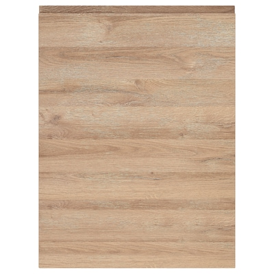 VOXTORP Deur, eikenpatroon, 60x80 cm