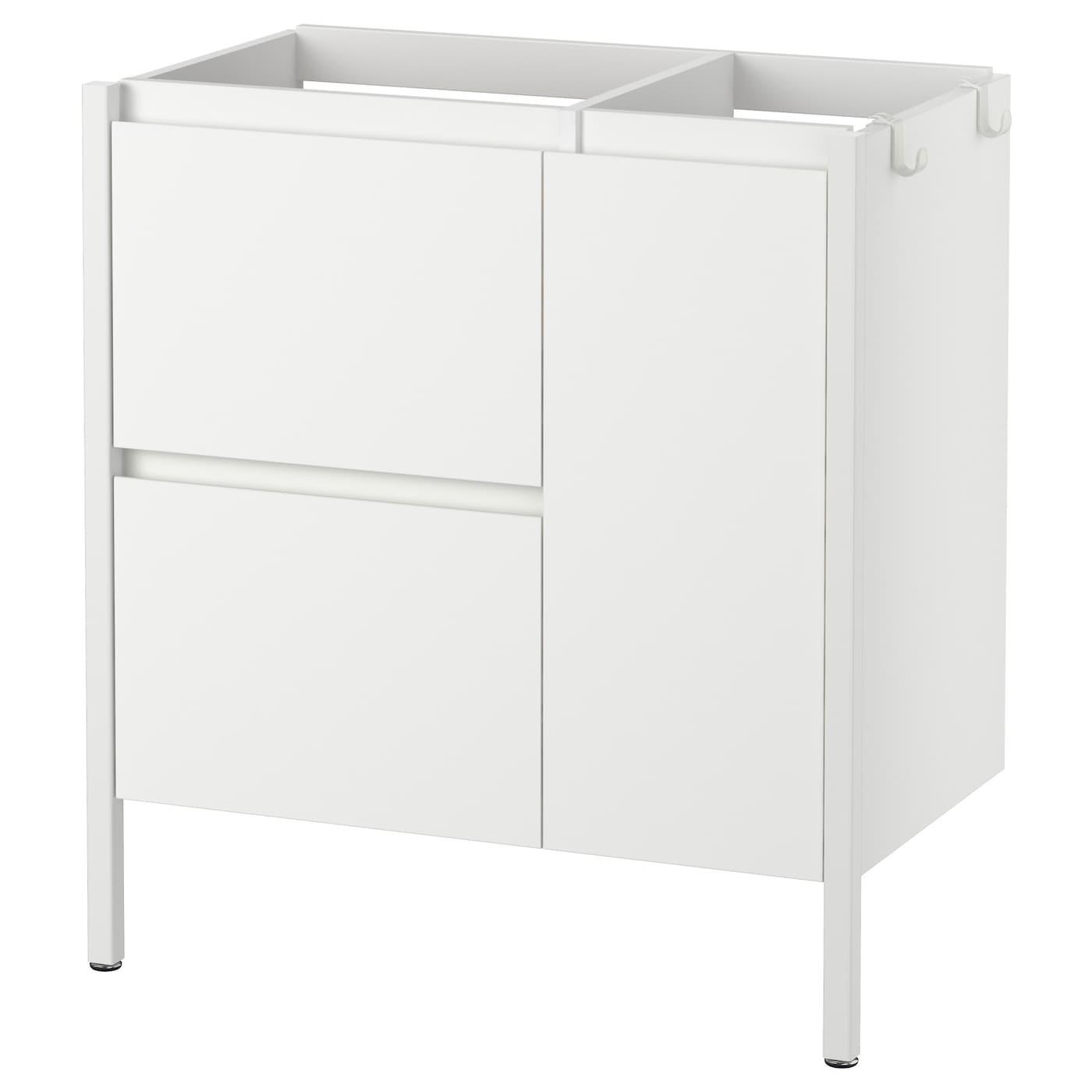 yddingen kast voor wastafel wit 70x76 cm ikea. Black Bedroom Furniture Sets. Home Design Ideas