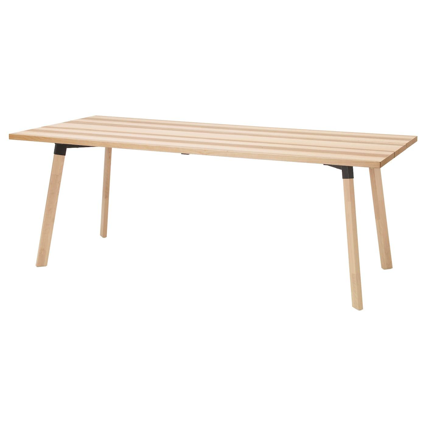 Ypperlig tafel essen 200 x 90 cm ikea for Ikea tafels