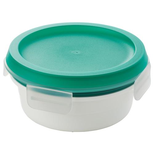 IKEA 365+ صندوق غداء مع حجيرة للطعام الجاف خبز 5 سم 14 سم 450 مل
