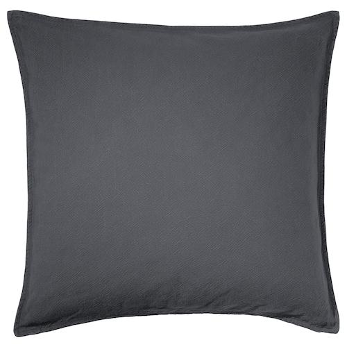 JOFRID غطاء وسادة رمادي-أزرق داكن 65 سم 65 سم