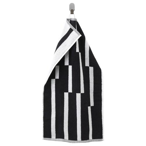 KINNEN منشفة يد أسود/ أبيض 70 سم 40 سم 0.28 م² 500 g/m²