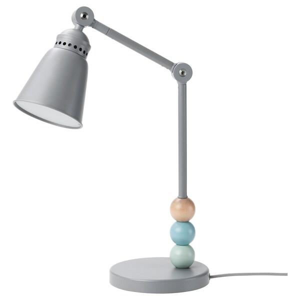 LANTLIG مصباح عمل LED رمادي 33 سم 16 سم 11 سم 1.8 م 3.4 واط