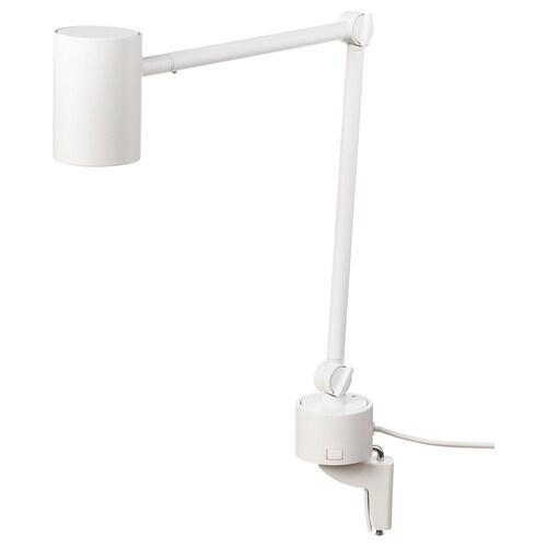 NYMÅNE مصباح مكتب/حائط أبيض 8.5 واط 400 لومن 7 سم 62 سم 7 سم 2.0 م
