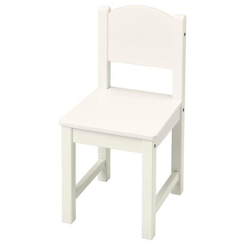 SUNDVIK كرسي أطفال أبيض 28 سم 29 سم 55 سم 28 سم 26 سم 29 سم