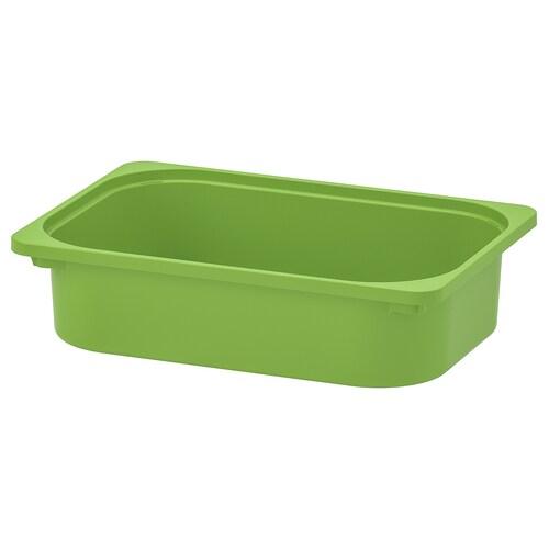 TROFAST صندوق تخزين أخضر 42 سم 30 سم 10 سم