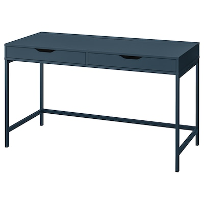 ALEX Desk, blue, 131x60 cm