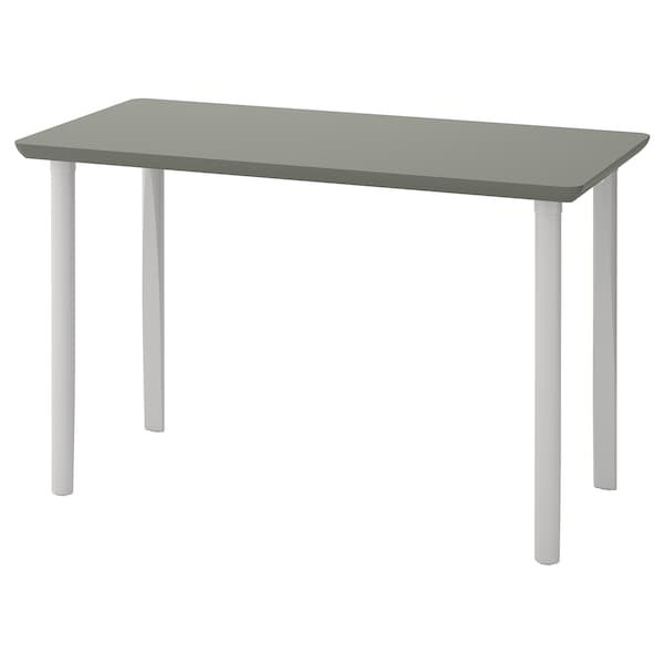 ÅMLIDEN / TORSKLINT Table, grey-green/light grey, 120x60 cm
