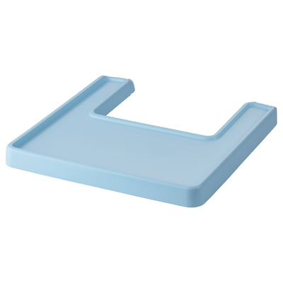 ANTILOP Highchair tray, light blue