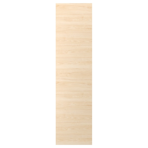 ASKERSUND Cover panel, light ash effect, 62x240 cm
