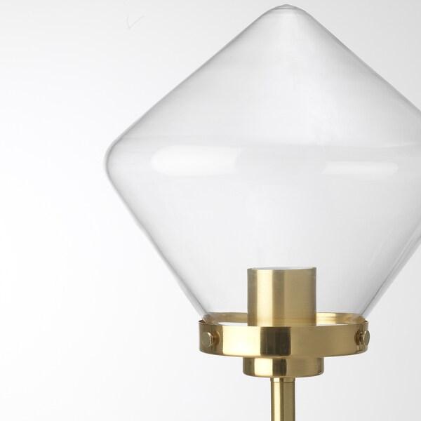 ÅTERSKEN Floor lamp, clear glass