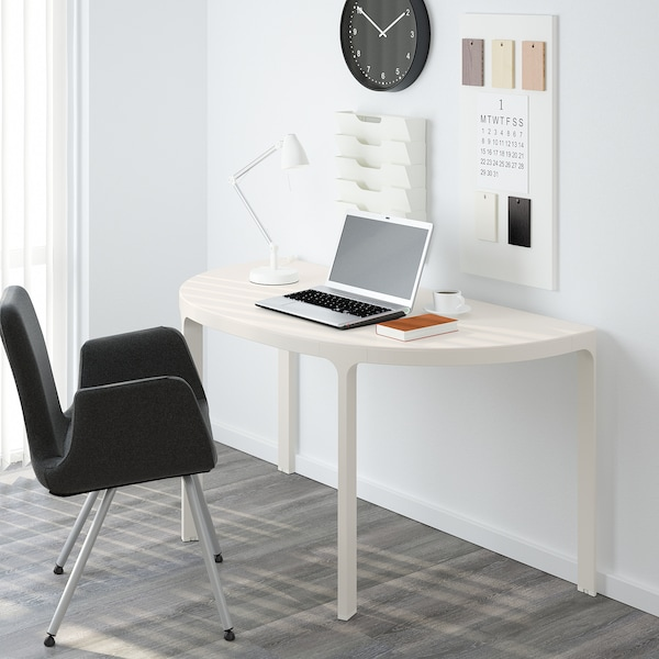 BEKANT Conference table, white, 140x70 cm