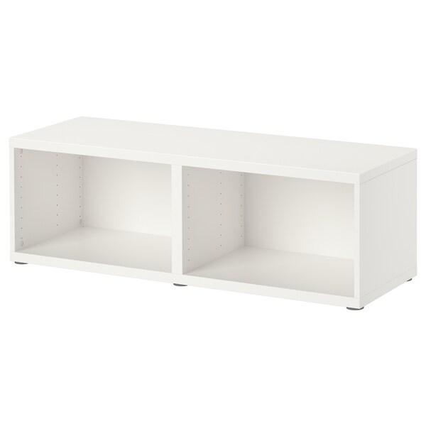 BESTÅ frame white 120 cm 40 cm 38 cm