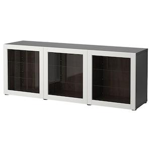 Colour: Black-brown/sindvik light grey clear glass.