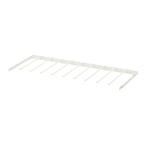 BOAXEL trouser hanger white 2 kg 80 cm