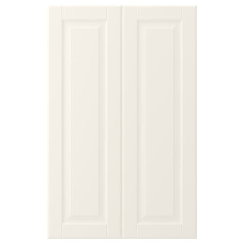 BODBYN 2-p door f corner base cabinet set off-white 25.4 cm 80.0 cm 25.0 cm 79.7 cm 1.9 cm