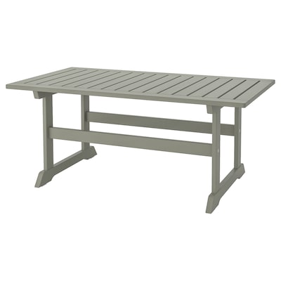 BONDHOLMEN Coffee table, outdoor, grey, 111x60 cm