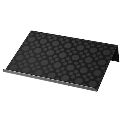 BRÄDA Laptop support, black, 42x31 cm