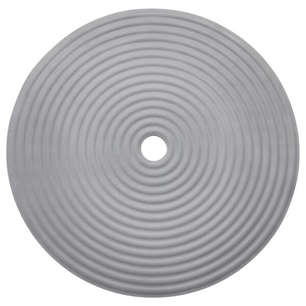 DOPPA Shower mat, dark grey, 46 cm