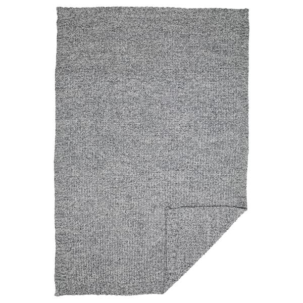 DUNÄNG Throw, grey, 130x180 cm