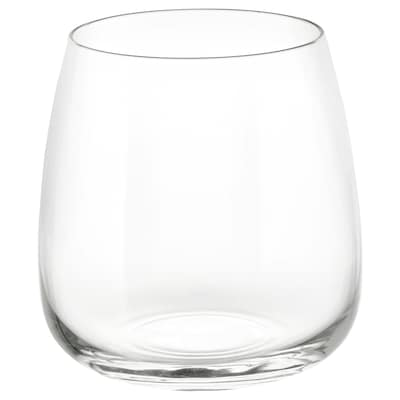 DYRGRIP Glass, clear glass, 36 cl