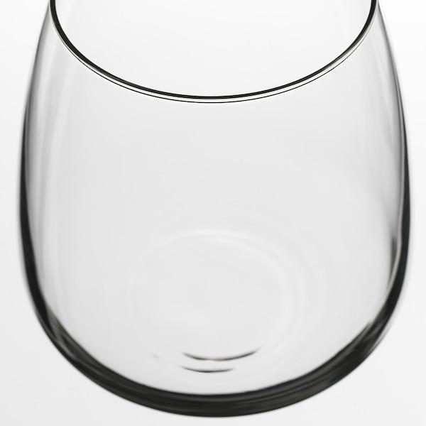 DYRGRIP Glass, clear glass, 36 cl