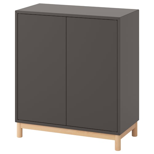 EKET cabinet combination with legs dark grey 70 cm 35 cm 80 cm