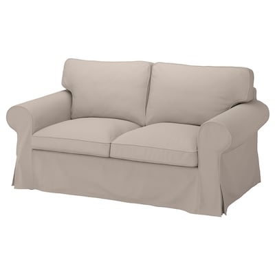EKTORP 2-seat sofa, Totebo light beige