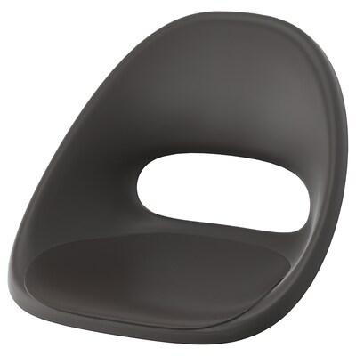 ELDBERGET Seat shell, dark grey