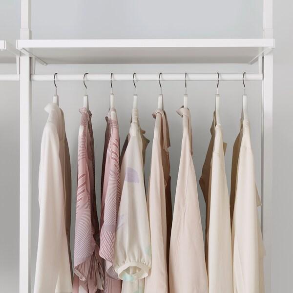 ELVARLI تشكيلة خزانة ملابس., أبيض, 92x51x222-350 سم