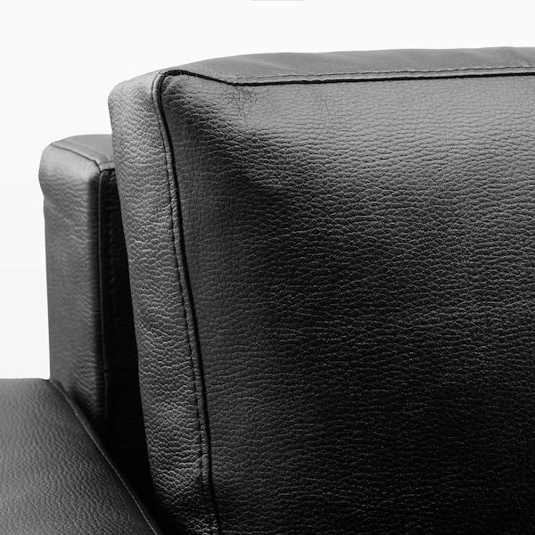FRIHETEN أريكة - سرير ثلاث مقاعد, Bomstad أسود