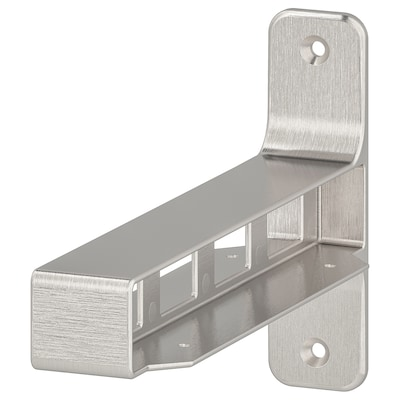 GRANHULT Jointing bracket, nickel-plated, 20x12 cm