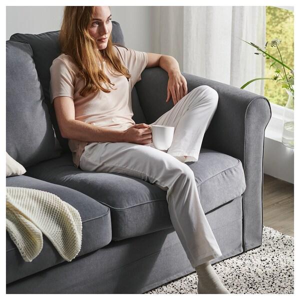 GRÖNLID 3-seat sofa, Ljungen medium grey