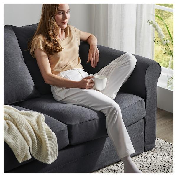 GRÖNLID Corner sofa, 4-seat, Sporda dark grey