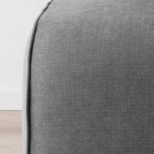 GRÖNLID Footstool, Ljungen medium grey