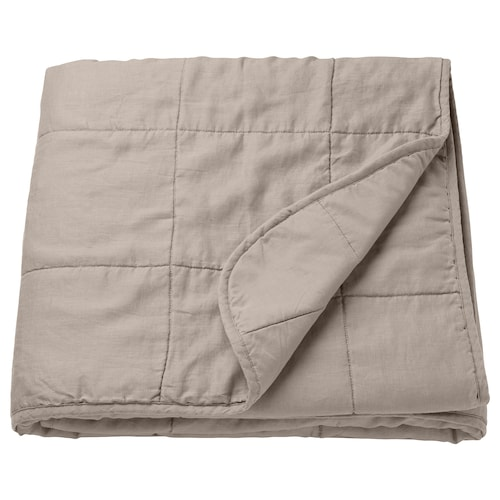 GULVED bedspread natural 250 cm 160 cm