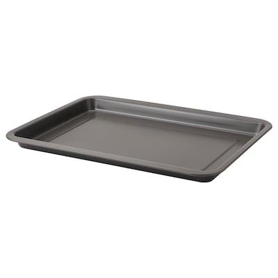 HEMMABAK Baking tin, grey, 40x30 cm