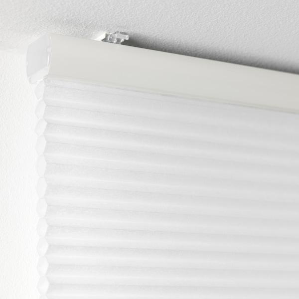 HOPPVALS Cellular blind, white, 120x155 cm