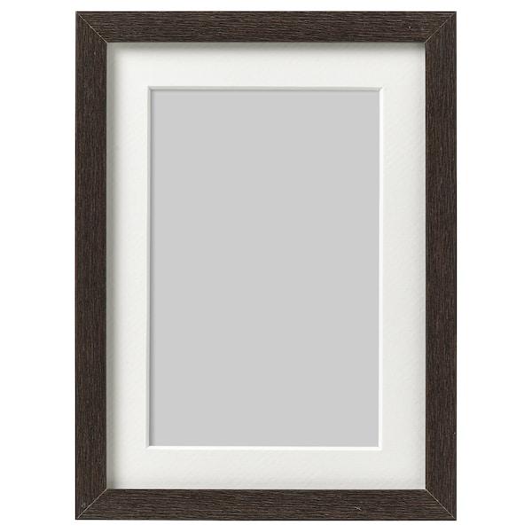 HOVSTA Frame, dark brown, 13x18 cm