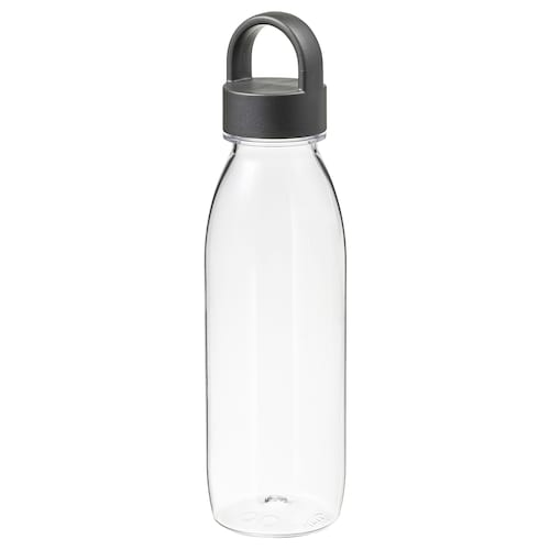 IKEA 365+ water bottle dark grey 24 cm 0.5 l