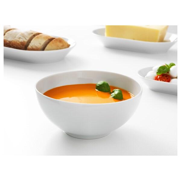 IKEA 365+ Bowl, rounded sides white, 16 cm